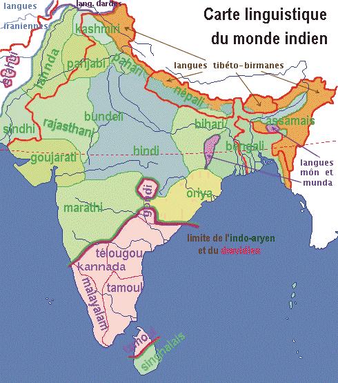 monde indien langues
